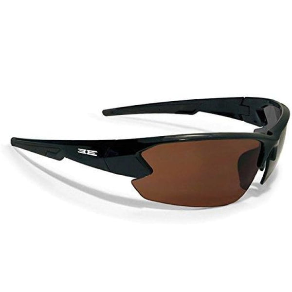 Epoch 4 Golf Sunglasses Black Frame Brown Lens - Golf Country Online