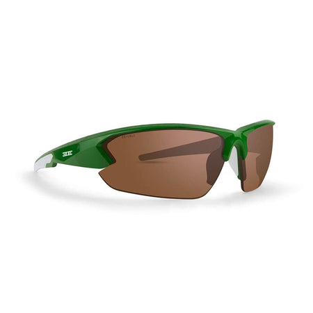 Epoch 4 Golf Sunglasses Green and White Frame Amber Lens - Golf Country Online