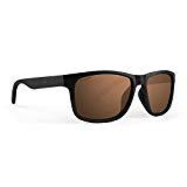 Epoch Delta 2 Black Frame With Polarized Super-Hydrophobic High Clarity Brown Lens Sunglasses - Sunglasses