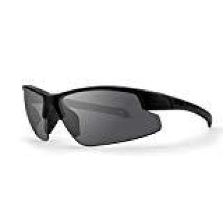 Epoch Bravo Black Polycarbonate Frame With Smoke Polarized Super-Hydrophobic Lens Sunglasses - Sunglasses