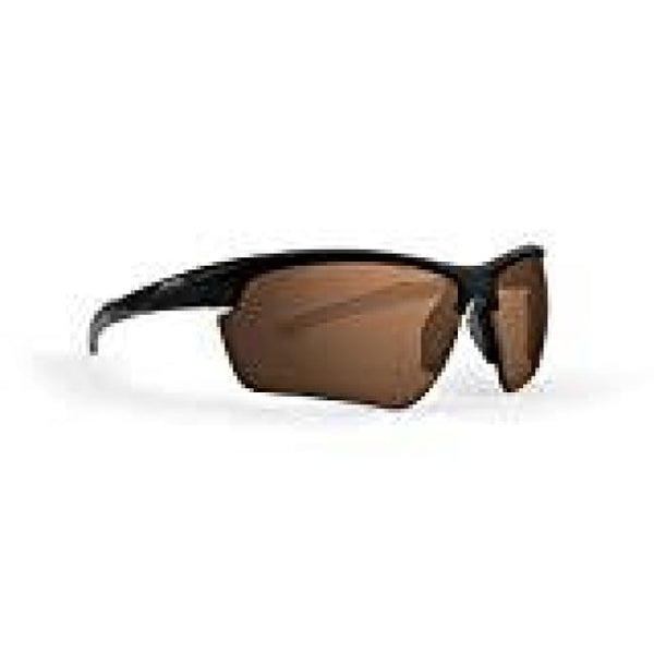 Epoch 7 Golf Sunglasses Black Frame High Clarity Brown Lens - Golf Country Online
