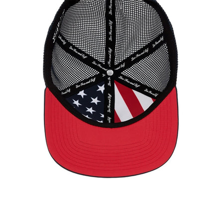 Titleist Golf- Stars & Stripes Tour Flat Bill Mesh Hat (Navy) - Golf Country Online