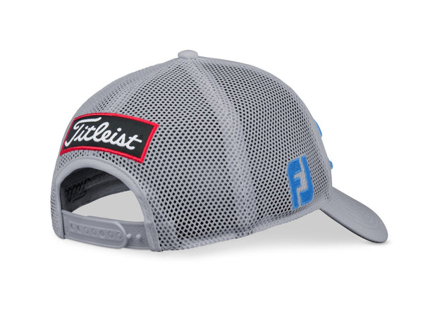 Titleist Golf- Tour Performance Mesh Cap/Hat Trend -GRAY/TIMBER - Golf Country Online