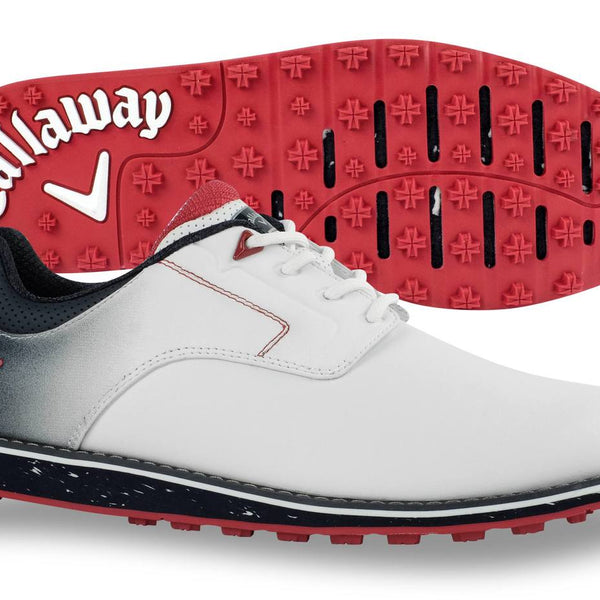 Callaway Men's LaJolla SL Golf Shoe - White/Navy - CG204WN - Golf Country Online