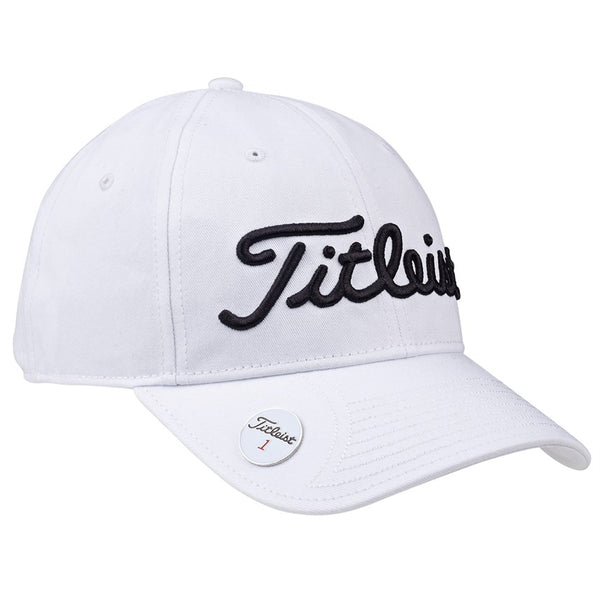 TITLEIST PERFORMANCE BALL MARKER GOLF HAT - WHITE - Golf Country Online