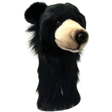 Daphne's Headcovers Black Bear Headcover - Golf Country Online