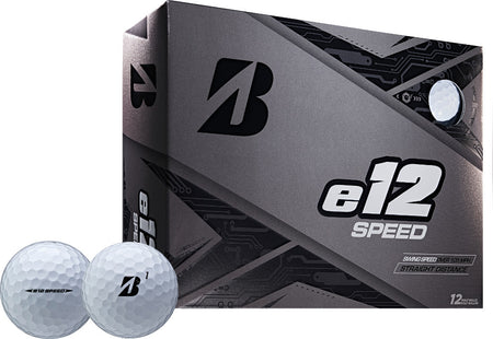 Bridgestone 2019 e12 SPEED Golf Balls Dozen White - Golf Country Online