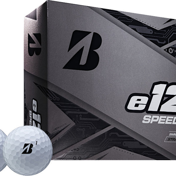 Bridgestone e12 SPEED Golf Balls Dozen White - Golf Country Online