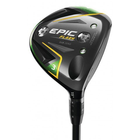 Callaway Mens Epic Flash Sub Zero Fairway Woods 2019