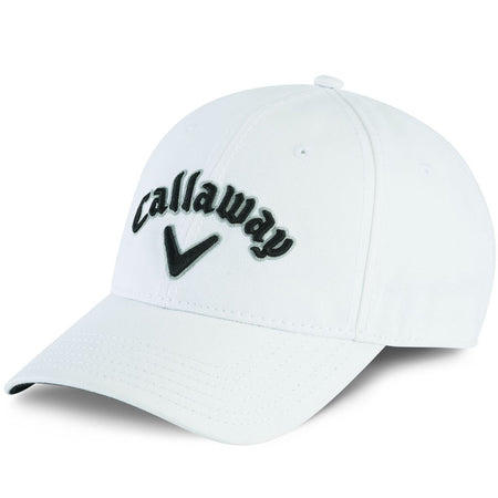 Callaway Golf Golf Heritage Twill Adjustable Cap/Hat - White