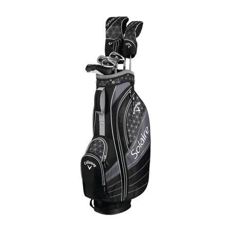 CALLAWAY LADY SOLAIRE '18 COMPLETE GOLF SET - BLACK