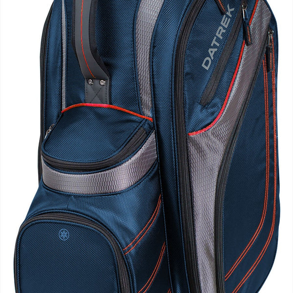 Datrek Unisex Transit Cart Bag (NAVY/CHARCOAL/RED) - Golf Country Online
