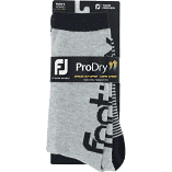 Footjoy ProDry Crew Heritage Golf Socks - Grey/Navy