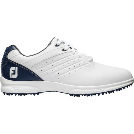 FOOTJOY ARC SL GOLF SHOES WHITE/NAVY - 59701 - Golf Country Online