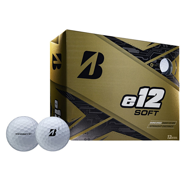 Bridgestone 2019 e12 SOFT Golf Balls Dozen White - Golf Country Online