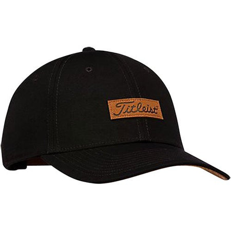 Titleist Charleston Hat Black/Brown (Adjustable) - Golf Country Online