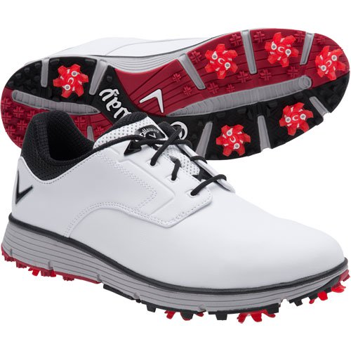 Callaway Men's LaJolla Golf Shoe - White/Black - CG202WK - Golf Country Online