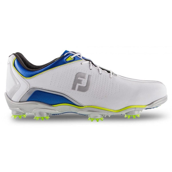FootJoy Men's D.N.A. Helix Limited Edition-Previous Season, White/Dusk/Lime - Golf Country Online