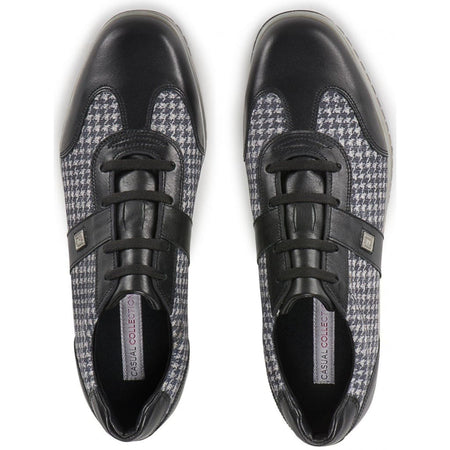 Footjoy Womens Casual Collection Golf Shoes 2017 Black Houndstooth - 97720 - Golf Shoes