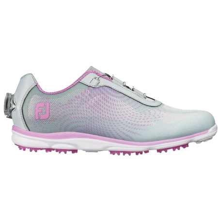 Footjoy Ladies Empower Boa Golf Shoes Silver/lilac 98015 - Golf Shoes