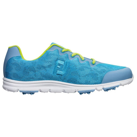 FootJoy Spikeless Ladies Enjoy Golf Shoes Pool Blue - 95702 - PREVIOUS SEASON - Golf Country Online