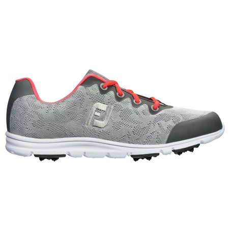 FootJoy Spikeless Ladies Enjoy Golf Shoes Grey Mist 95703 - Golf Country Online