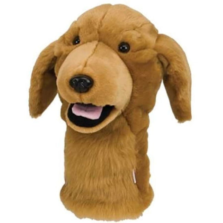 Daphne's Headcovers Golden Retriever Dog Headcover - Golf Country Online