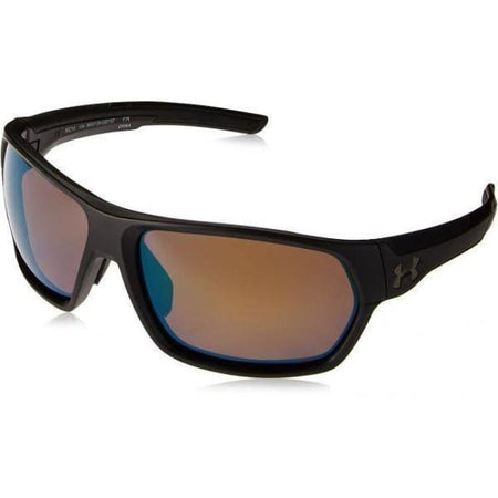 Ua Shock Storm (Ansi) Matte Black / Black Frame / Shoreline Tuned Polar Lens - Golf Country Online