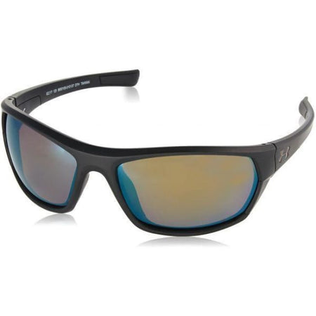 Ua Powerbrake Satin Black / Black / Shoreline Polarized - Golf Country Online
