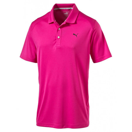 Puma Golf 2017 Men's Pounce Polo - Beetroot Purple
