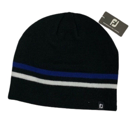 Footjoy 2021 Winter Beanie Golf Hat - Black