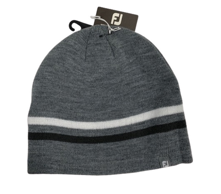 Footjoy 2021 Winter Beanie Golf Hat - Charcoal