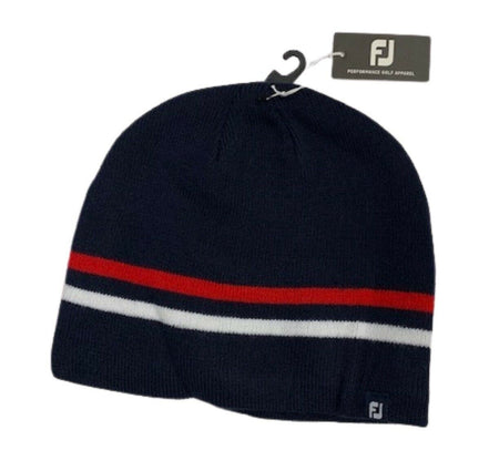 Footjoy 2021 Winter Beanie Golf Hat - Navy