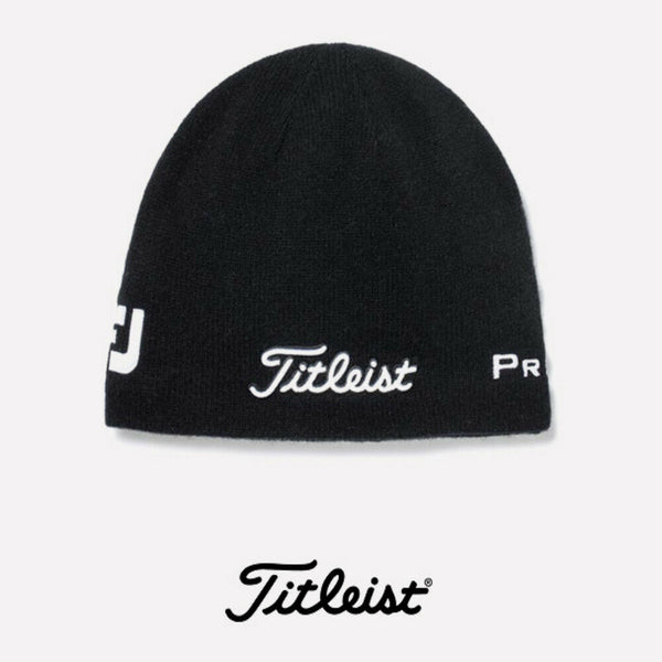 Titleist Merino Wool Golf Beanie - Black