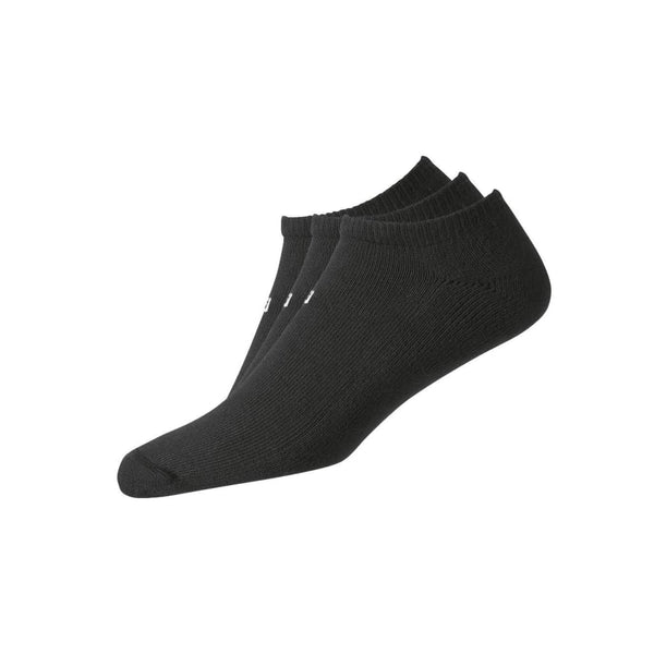 FootJoy Golf - ComfortSof Low Cut 3-Pack Socks - BLACK - Golf Country Online