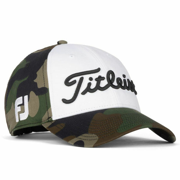 Titleist Golf 2020 Woodland Camo Standard Curve Adjustable Hat Limited Edition