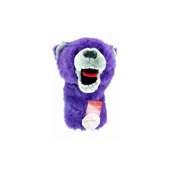 Daphne's Headcovers Purple Grizzly Bear Headcover - Golf Country Online