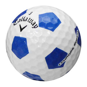 Callaway Chrome Soft Truvis Technology Single Golf Ball (White/Blue) - Golf Country Online