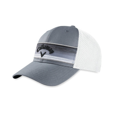 Callaway Golf 2020 Stripe Mesh Adjustable Hat - GRAY - Golf Country Online