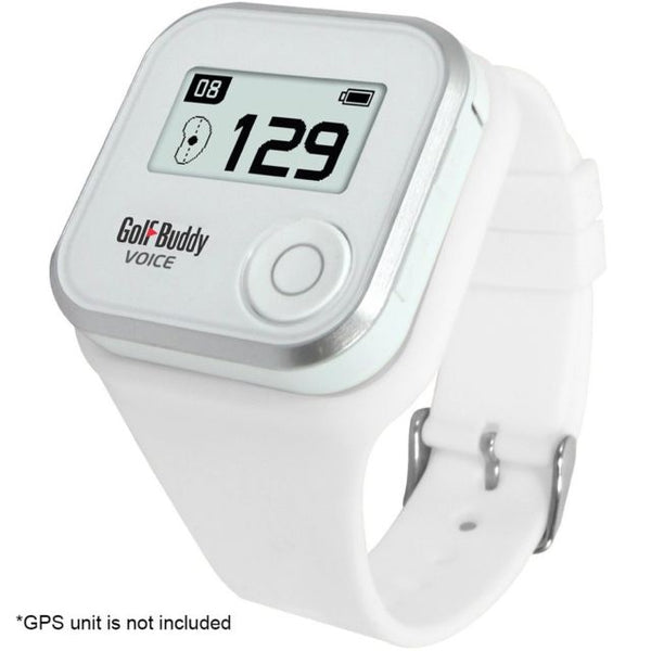 Golf Buddy Voice 2 Wristband - WHITE - Golf Country Online