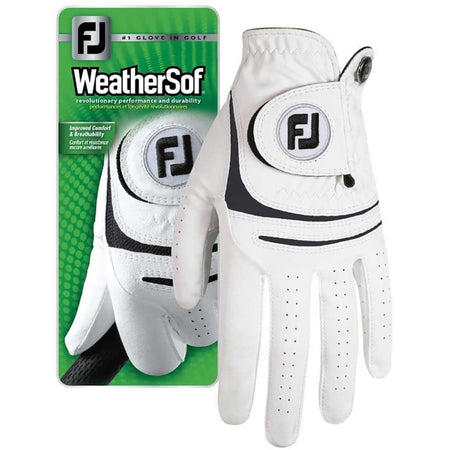 Footjoy Mens Weathersof Golf Gloves - Golf Gloves