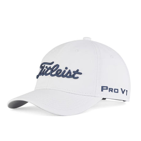 Titleist Golf- Junior Tour Performance Cap Legacy Collection - WHITE/NAVY