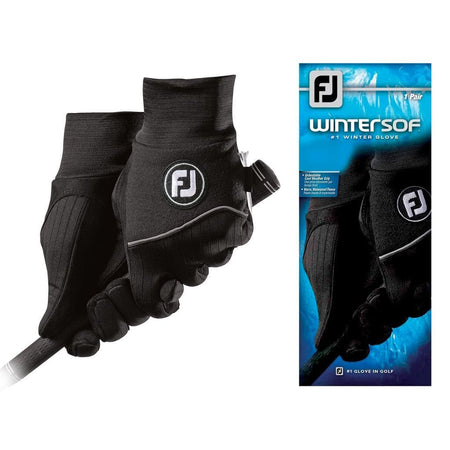 Footjoy Mens Wintersof Golf Gloves - Pair - Golf Gloves