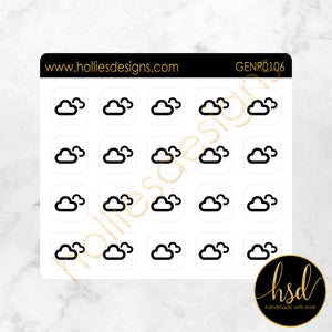 GENP0106 | Weather Icons | Overcast
