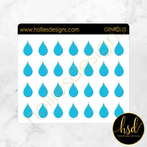 GENP0110 | Water Droplets