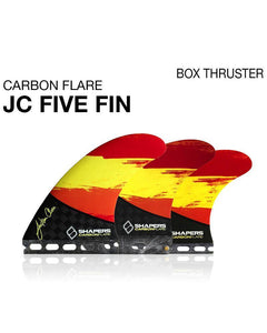 Carbon Flare: JC01 (5 Fin Set)