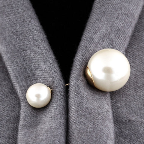Pearl Accent Brooch