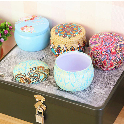 ornate multi-use tin, prettyfancythings, candy jar, jewelry box, gift box