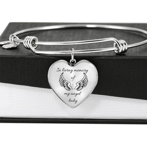 Angel Baby Heart Bracelet