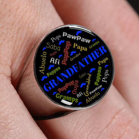 Grandfather Name Ring